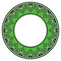 Free Ornate Green Frame Royalty Free Stock Image - 19387386