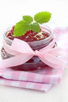 Free Fresh Strawberry Jam Stock Image - 19380461