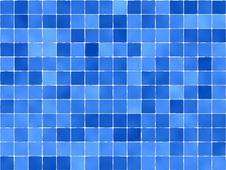 Free Blue Tile Background Stock Photo - 19380800