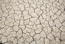 Free Dried Soil. Royalty Free Stock Photography - 19381867