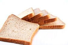 Free Whole Wheat Bread Isolated Stock Images - 19383914