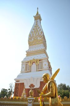 Free Phra Tat Nakhon Phanom Royalty Free Stock Images - 19384149