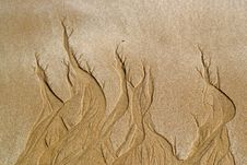 Free Background Of Sand Flame Patterns Stock Photo - 19384630