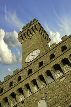Free Bottom-Up View Of Piazza Della Signoria Stock Photography - 19385812