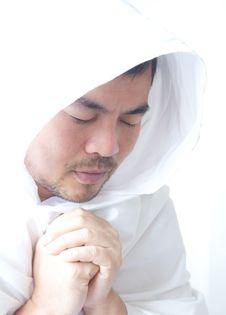 Free Young Man Praying Stock Images - 19385854