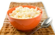 Free Cottage Cheese Royalty Free Stock Photography - 19386577