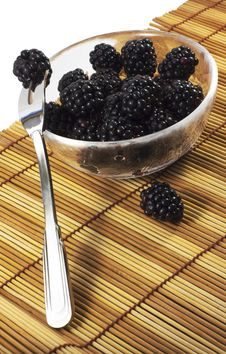 Free Blackberry Desert Royalty Free Stock Image - 19388466