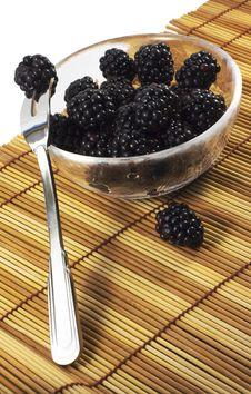 Blackberry Desert Royalty Free Stock Image