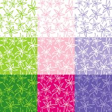 Free Seamless Floral Pattern Stock Photos - 19388633