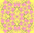 Free Floral Vector Seamless Pattern Stock Photography - 19395572