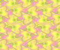 Free Floral Vector Seamless Pattern Royalty Free Stock Photos - 19395578