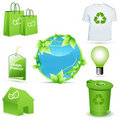 Free Recycle Icons Stock Photos - 19395913