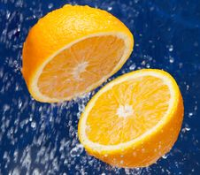 Free Fresh Sweet Orange Stock Photo - 19390330