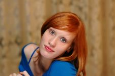 Free Red-haired Royalty Free Stock Image - 19390806