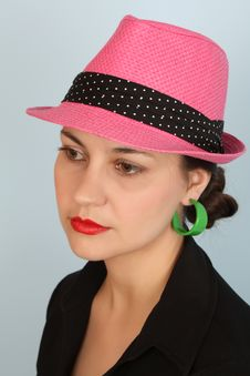 Free Pink Hat Stock Photography - 19391862