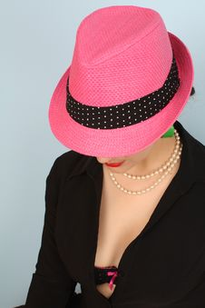 Free Pink Hat Stock Images - 19391934