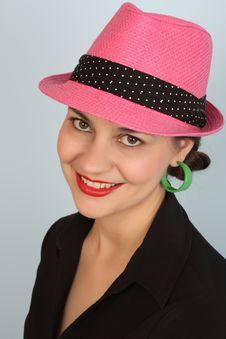 Free Pink Hat Royalty Free Stock Photos - 19391988