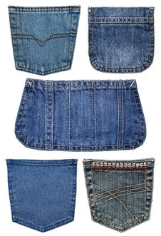 Free Collection Of Pockets Jeans Stock Photo - 19392030