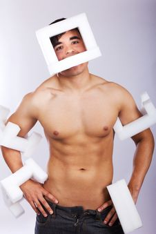 Free Male Is Posing Stock Photos - 19392753