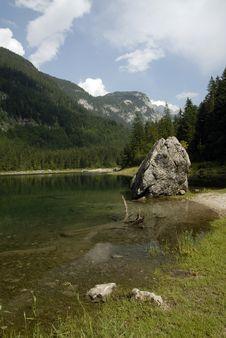 Free Mountain Lake Stock Image - 19393571