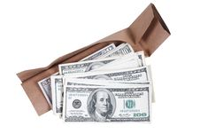 Free Package And Dollars Stock Photo - 19393950