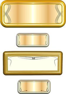 Free Metal Name Plates Stock Images - 19394004