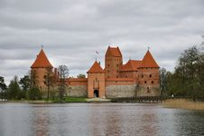 Trakai Island Castle Royalty Free Stock Image