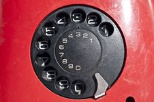 Free Red Telephone Stock Photo - 19394870