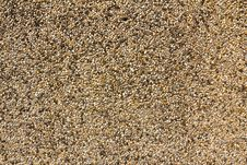 Background With Rounded Pebble Stones Stock Image