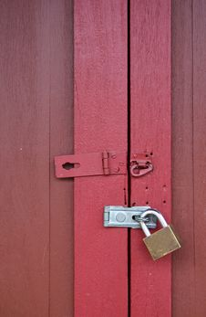 Free Locked Door Royalty Free Stock Images - 19395099