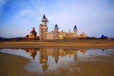 Castles On Th Beach Stock Image