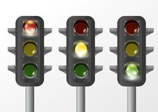 Free Traffic Light Isolated Stock Photos - 19396633