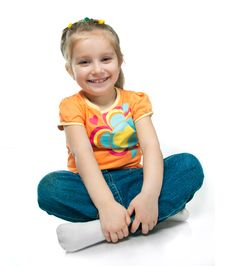 Free Smiling Little Girl Stock Image - 19396871