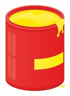 Free Cans Of Paint Stock Image - 19396891