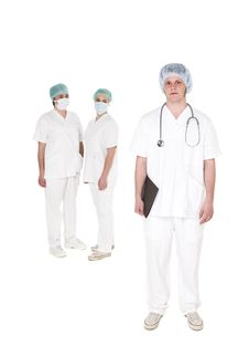 Free Doctor And Nurses Royalty Free Stock Photo - 19398015