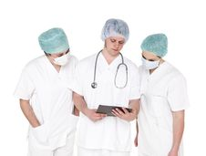 Free Doctor And Nurses Stock Photo - 19398020