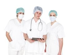 Free Doctor And Nurses Stock Photography - 19398032
