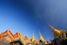 The Top Part Of The Grand Palace Stock Photography