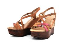 Ladies Shoes Royalty Free Stock Image