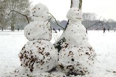 Free Snowmen Stock Photo - 1940210