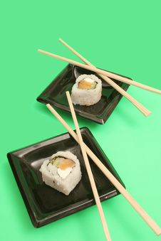 Free Sushi For Two On Top Royalty Free Stock Photo - 1941035