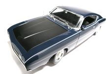 Free 1969 Ford Torino Talladega Metal Scale Toy Car Fisheye 5 Stock Photos - 1941173