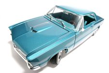 1965 Pontiac GTO Metal Scale Toy Car Fisheye 3 Royalty Free Stock Image