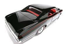 1966 Pontiac GTO Metal Scale Toy Car Fisheye 4 Royalty Free Stock Photos
