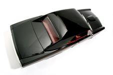 Free 1966 Pontiac GTO Metal Scale Toy Car Fisheye 6 Royalty Free Stock Photography - 1941277