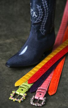 Free Belts And Boots Stock Image - 1941501