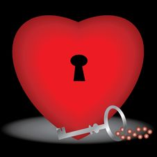 Free Key To Your Heart Stock Images - 1942594