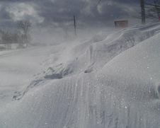 Snow Drift Stock Photography