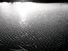 Free Ripples B&W Stock Image - 1944571