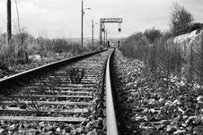 Free Old Railway Royalty Free Stock Photos - 1945658